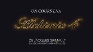 Alchimie | Cours 4