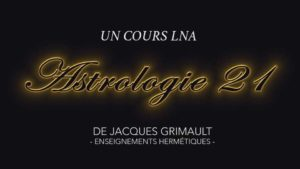 Astrologie | Cours 21
